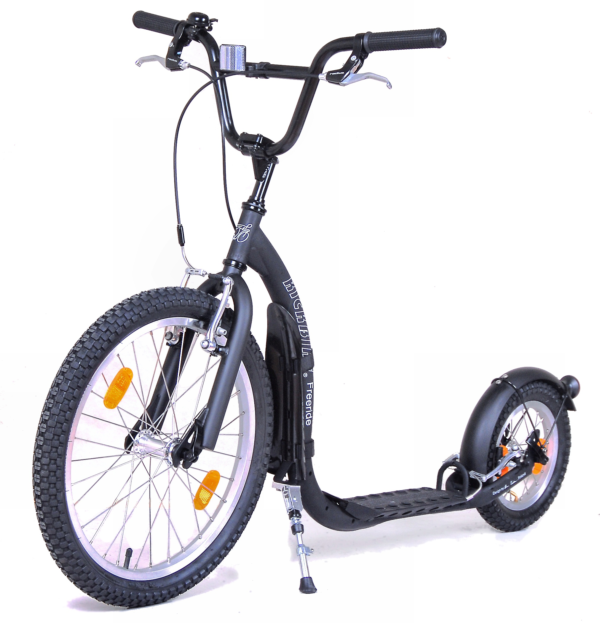 kickbike freeride trotinette grande roue pour enfant. Black Bedroom Furniture Sets. Home Design Ideas